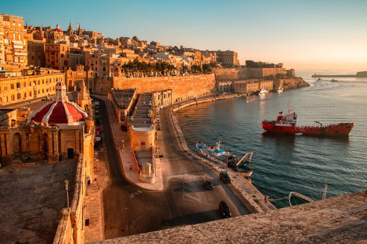 malta general view